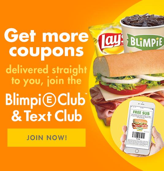 Blimpie Promotion