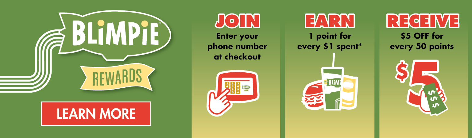 Get more coupons delivered straight to you, join the blimpie club. join now!