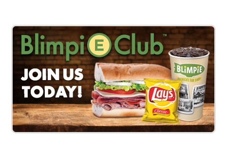 Signup for Blimpie eClub
