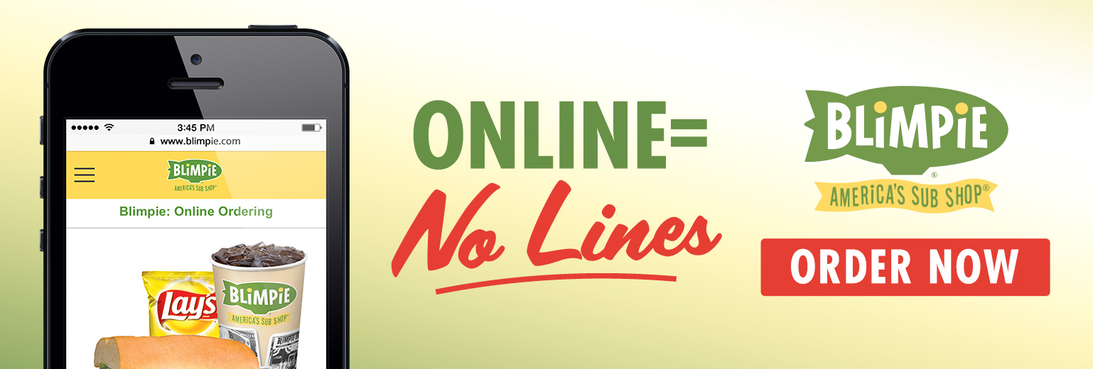 Order Online and avoid the lines